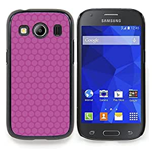 Stuss Case / Funda Carcasa protectora - Modelo rosado minimalista - Samsung Galaxy Ace Style LTE/ G357