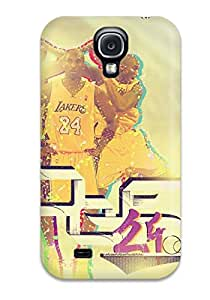 Excellent Galaxy S4 Case Tpu Cover Back Skin Protector Los Angeles Lakers Nba Basketball (20)