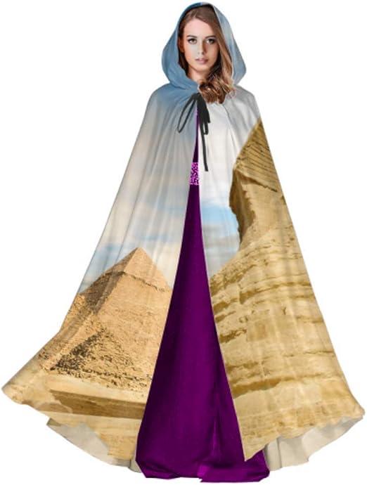 Yushg Magnífica pirámide egipcia Antigua Traje Ligero con Capucha ...