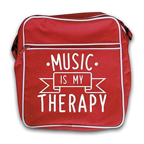 Flight Red Music Retro Therapy Bag My Is Black wxR6IqpUR