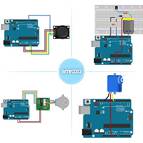 Smraza uno r starter kit for arduino with tutorials and