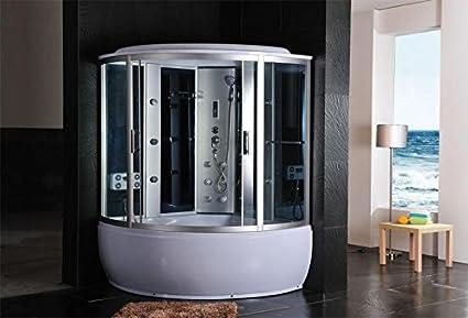 Cabina Doccia Idromassaggio Sauna Bagno Turco 150x150 Amazon It