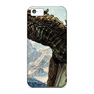 Shock-dirt Proof Skyrim Greybeard Case Cover For Iphone 5c