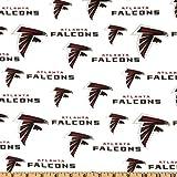 Fabric Traditions NFL Cotton Broadcloth Atlanta