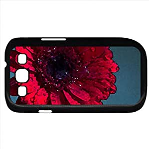 Gerbera (Flowers Series) Watercolor style - Case Cover For Samsung Galaxy S3 i9300 (Black)