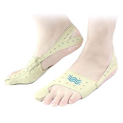 NANANA - Corrector elástico para juanetes, ultra delgado, para calzado, ajustable, para