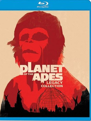 Planet Of The Apes Legacy Collection Blu-ray (Apes Of Movies Legacy The Planet)