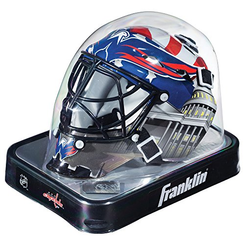 (Franklin Sports NHL League Logo Washington Capitals Mini Goalie Mask)