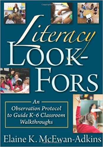Literacy Look Fors The Classroom Strategy An Observation Protocol