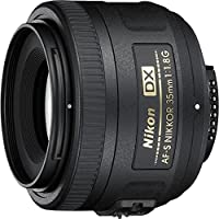 Nikon 35mm f/1.8G AF-S DX Lens for Nikon Digital SLR...