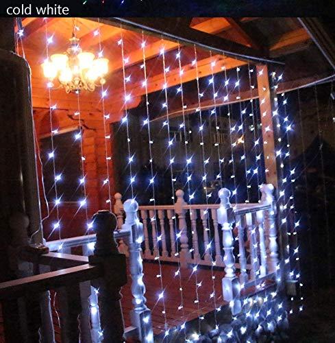 BATOP 220v EU /110v us Plug led Curtains Lights Digital Water Waterfall Lights Holiday Decoration Wedding Christmas Light Outdoor