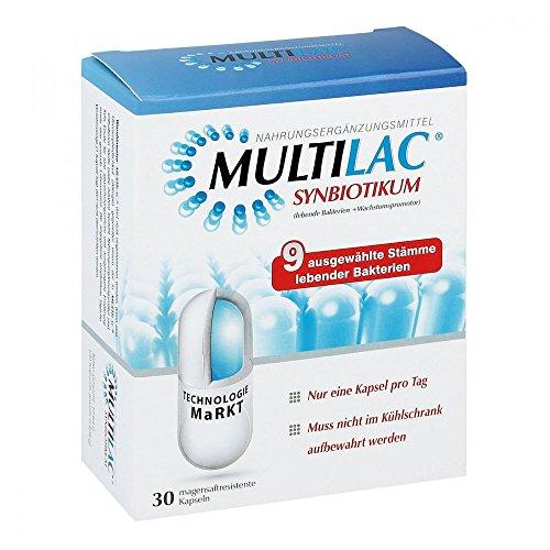 MULTILAC Synbiotic gastric juice resistant capsules 30 St capsules resistant to gastric juices