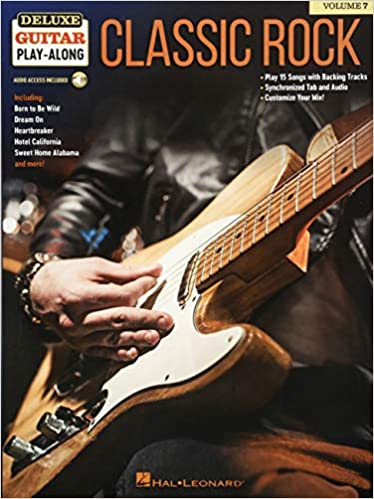 Deluxe Guitar Play-Along Volume 7 Classic Rock