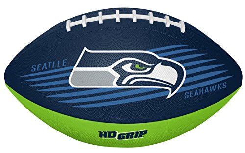 Rawlings NFL Seattle Seahawks 07731085111NFL Downfield Football (All Team Options), Green, Youth