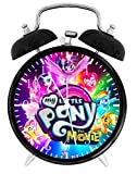 My Little Pony Alarm Desk Clock Home Office Decor F61 Nice For Gifts