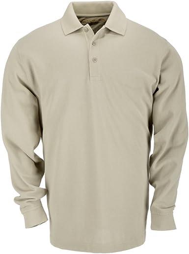 5.11 Tactical Professionale Da Uomo T-Shirt Polo-Nero Tutte le Taglie