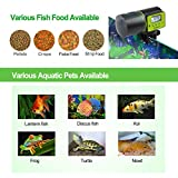 Torlam Auto Fish Feeder, Moisture-Proof Electric