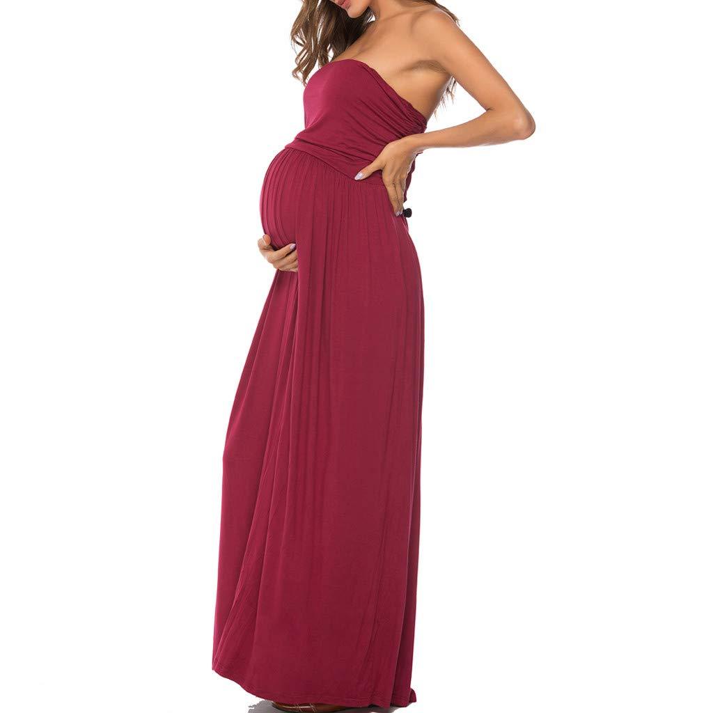Siswong Robes de maternit/é sans /épaule pour s/éance Shooting Photo de maternit/é Accessoires de Grossesse Robes de Grossesse pour Femmes Enceintes V/êtements
