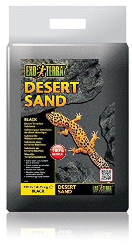 Exo Terra Desert Sand, 10-Pound, Black (Desert Blend)