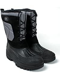 Men's Snow Boots Waterproof Insulated 6 Style by...