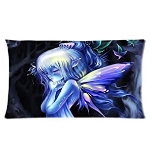 LarryToliver You deserve to have cute little girl fairy Pillowcase - 2 Way cloth 20 X 30 inch the best pillow case (two sides print)