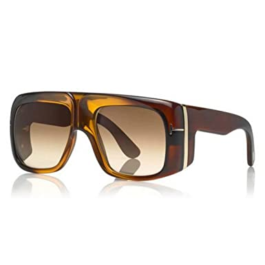 Gafas de Sol Tom Ford GINO FT 0733 BROWN/LIGHT BROWN SHADED ...