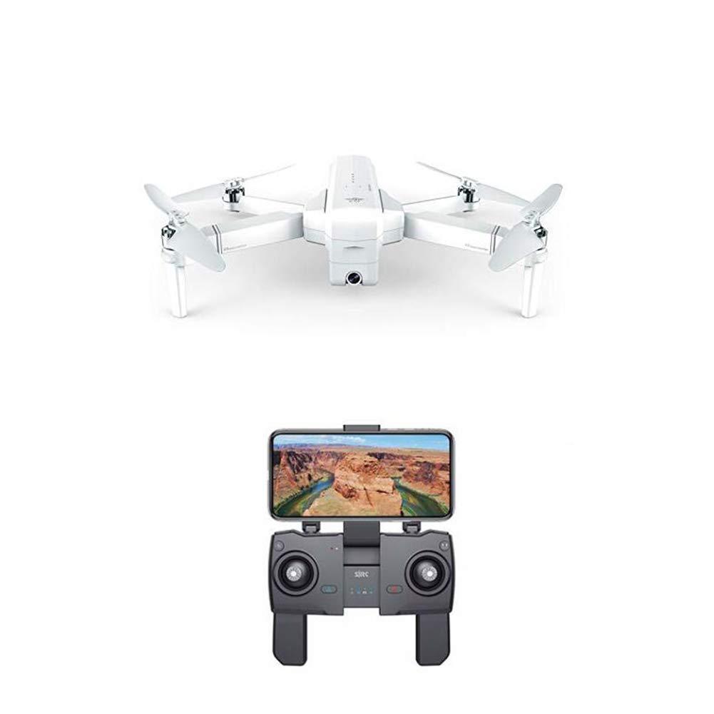 la mejor oferta de tienda online blanco WANGKM Drone Plegable, WiFi FPV GPS sin escobillas escobillas escobillas con 1080P 120 ° de ángulo Ancho de cámara Selfie hasta 25 Minutos Tiempo de Vuelo 3 Metros Foto de Gesto Sin Retorno de señal  compra en línea hoy