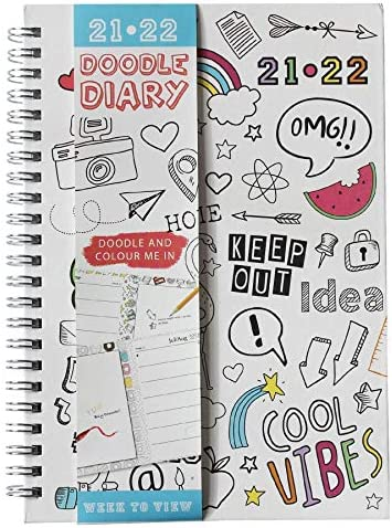 20212022 Colour Your own Week to Bekijk Academisch Student Diary 9282