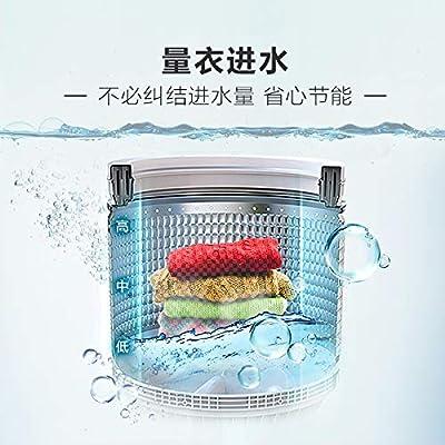 Lavadora 8 kg automática cuádruple Inteligente con un Peso Olas de ...