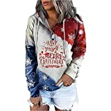 UNIPIN Christmas Hoodies for Women Pullover