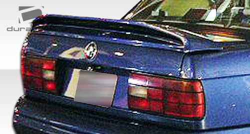 1 Piece Extreme Dimensions Duraflex Replacement for 1984-1991 BMW 3 Series E30 M-Tech Wing Trunk Lid Spoiler