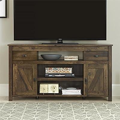 Altra Farmington Century Barn Pine Finish Rustic 60 inch TV Stand