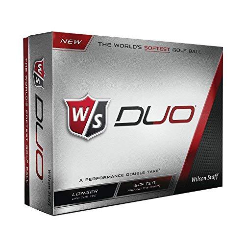 2 Dozen NEW Wilson Staff DUO Golf Balls 24 Balls - White