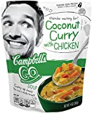 Campbell's Go Soup, Coconut Curry with Chicken, 14 Ounce (Pack of 8)