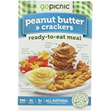 GoPicnic Ready-to-Eat Meals Peanut Butter and Crackers,6.14 Ounce