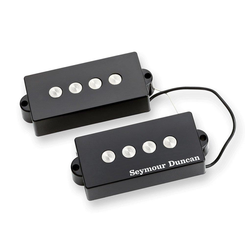 Seymour Duncan SPB-3 P-Bass Guitar Pickup Set with True Tune Tuner, Keychain 1402-06