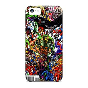 jla Vs Avengers Scratch-free phone carrying cover skin High Grade Cases Extreme Iphone5c iphone 5c