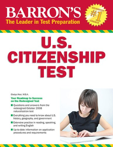 Barron's U.S. Citizenship Test, 8th Edition