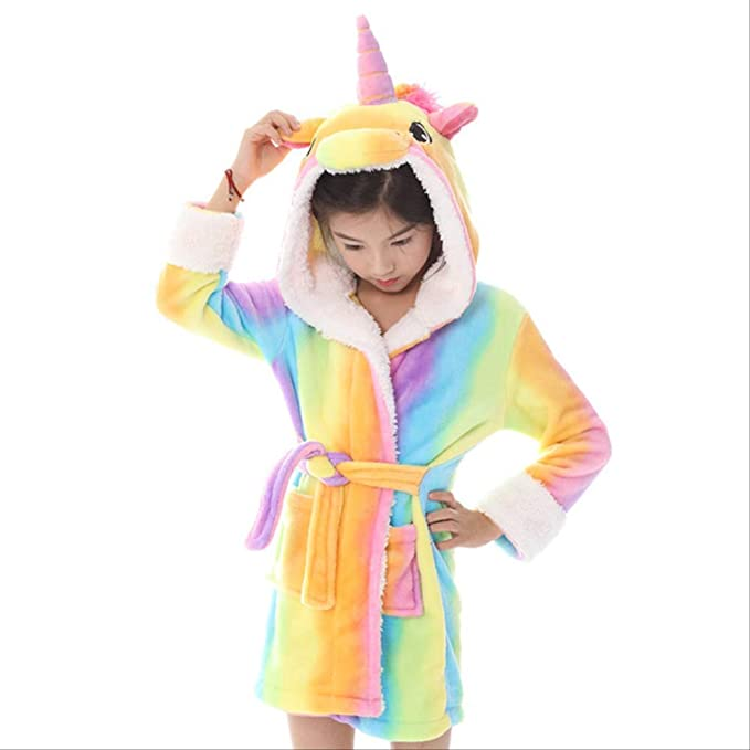 Albornoces para bebés lindos para niñas Pijamas Niños con ...
