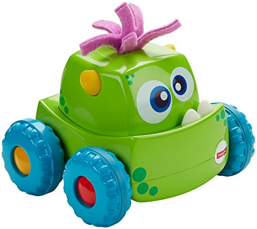 Press 'n Go Monster Truck, Green