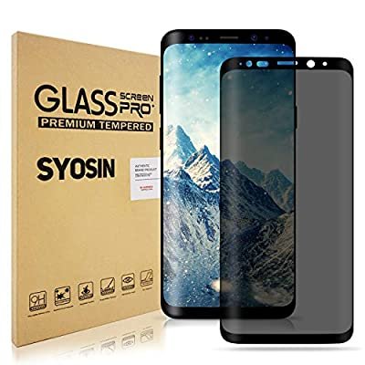 Samsung Galaxy Note 9 Screen Protector, Top Canyon Galaxy Note 9 Privacy Screen Protector, Galaxy Note 9 Privacy Tempered Glass Anti-Spy [3D Curved] [Case Friendly]