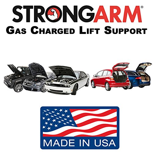 Qty (2) StrongArm 6124 Liftgate Hatch Tailgate Gas Lift Supports Tailgate Struts With Power Liftgate (Power Tailgate)