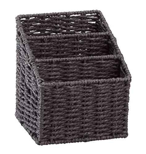 Wicker Letter Sorting Basket