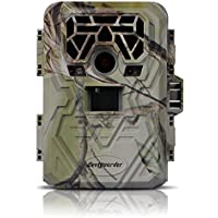 Augsep Bestguarder Game Hunting Camera Night Vision up to 75ft Trail Scouting Camera 12MP 1080P HD No Glow Infrared with 36pcs 940nm IR LEDs Waterproof IP66