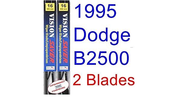Amazon.com: 1995 Dodge B2500 Replacement Wiper Blade Set/Kit (Set of ...