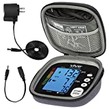 Vive Precision Blood Pressure Machine - Heart Rate Monitor - Automatic BPM Upper Arm Cuff - Sphygmomanometer for Hypertension and Accurate Pulse