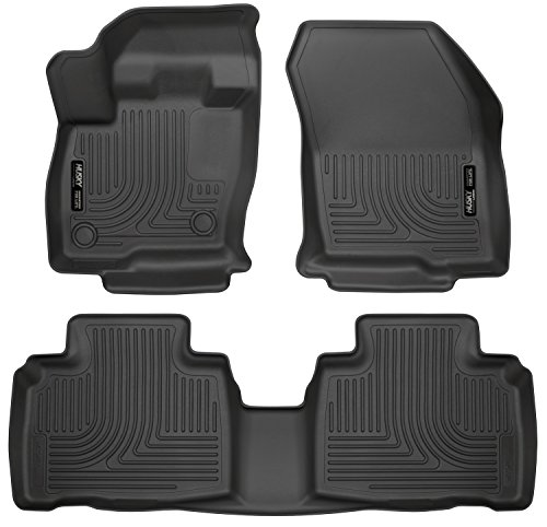 Husky Liners Front & 2nd Seat Floor Liners Fits 15-19 Edge