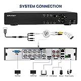 8CH 1080P AHD DVR for SMONET AHD Security Camera System