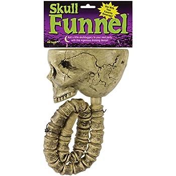 Amazon.com: Fun World Skull Beer Funnel: Skull Beer Bong