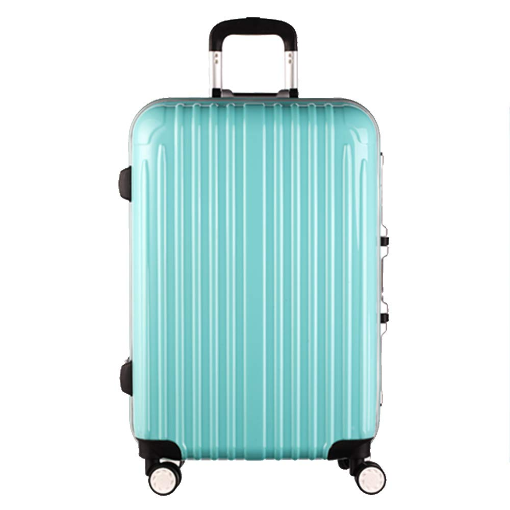 Mei Xu Luggage Sets Trolley Case-24//26 Inch Aluminum Frame Universal Wheel Trolley Case Student Large Capacity Luggage Solid Color Password Suitcase Business Travel Check Box 5 Color Optional Travel E